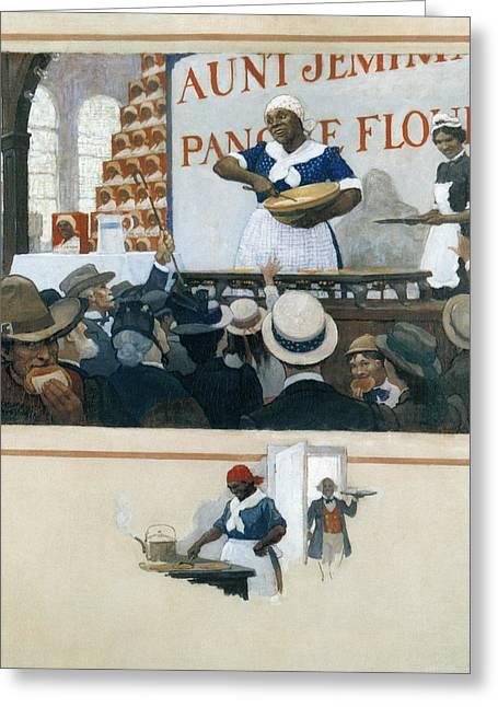 Wyeth Aunt Jemima, C1919 Greeting Card