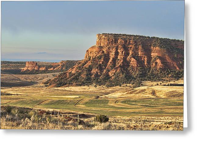 Greeting Card featuring the photograph Wyoming by David Armstrong