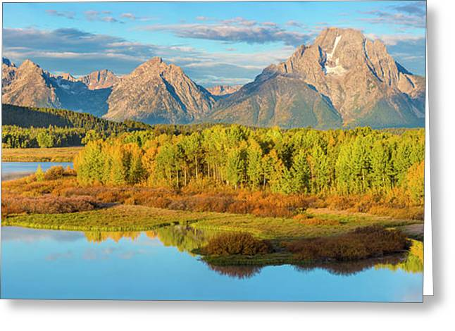 Wyoming, Grand Teton National Park Greeting Card