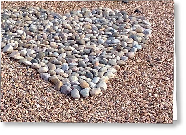 Xeriscape Heart Greeting Card