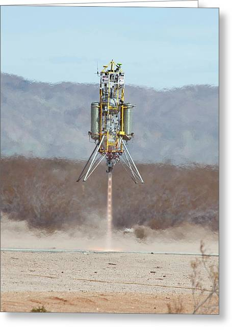 Xombie Rocket Craft Test Flight Greeting Card by Nasa/tom Tschida