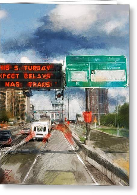 Xpect Delays Greeting Card