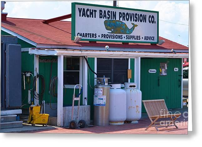 Yacht Basin Provision Co. Greeting Card