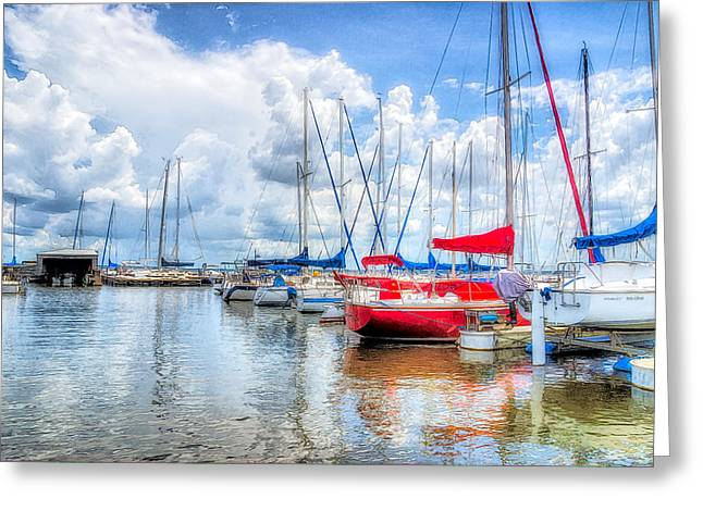 Yacht Club Greeting Card