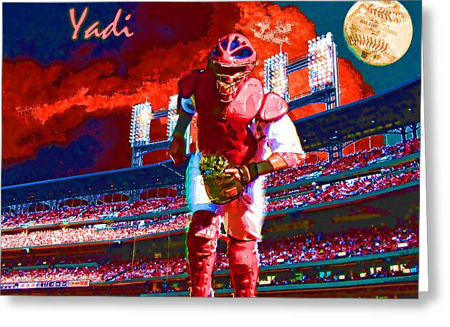 Yadi Greeting Card