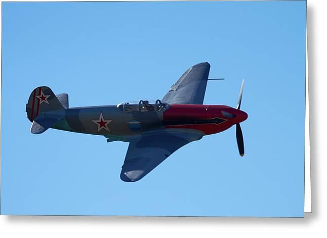 Yakovlev Yak-3 - Wwii Russian Fighter Greeting Card
