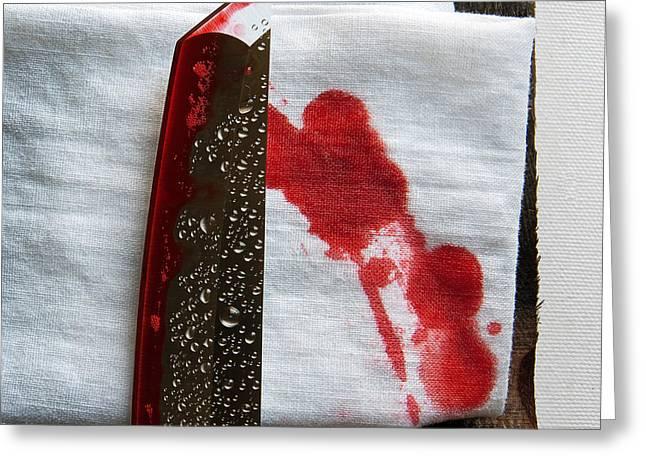Yakuza Greeting Card by Tim Nichols