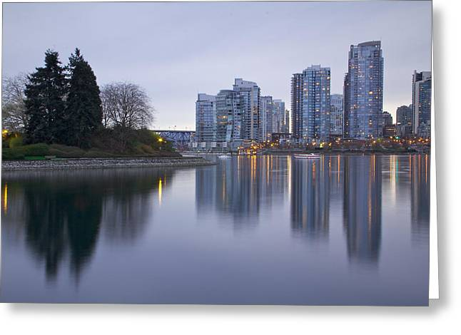 Yaletown Greeting Card