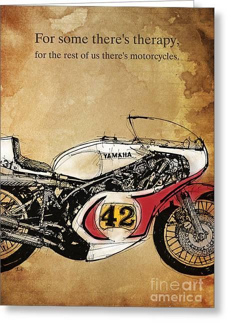 Yamaha 42 Quote Greeting Card