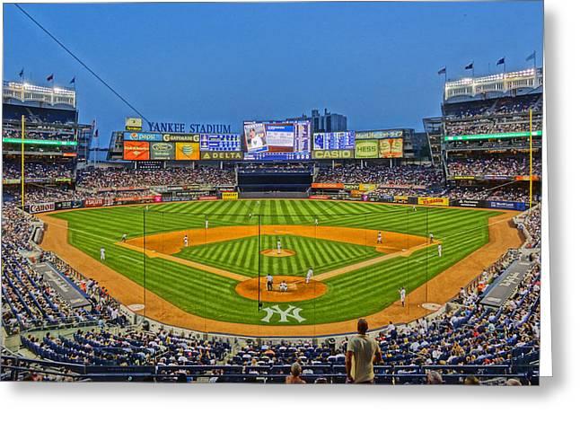 Yankee Stadium Greeting Card by Jeffrey Friedkin