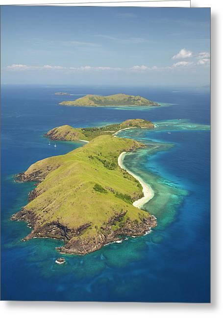 Yanuya Island, (and Tavua Island Greeting Card