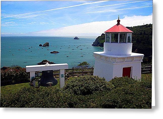 Yaquina Bay Lighthouse Greeting Card