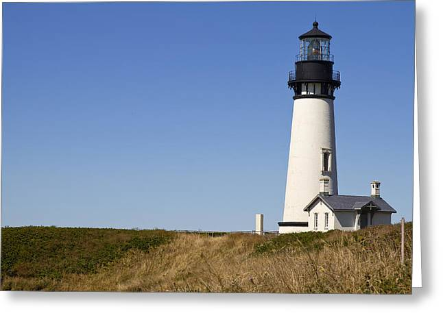 Yaquina Head Lighthouse 3 Greeting Card by David Gn