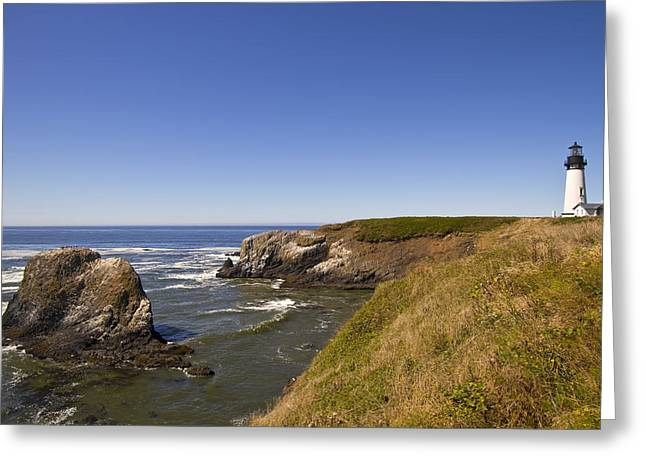 Yaquina Head Lighthouse 4 Greeting Card