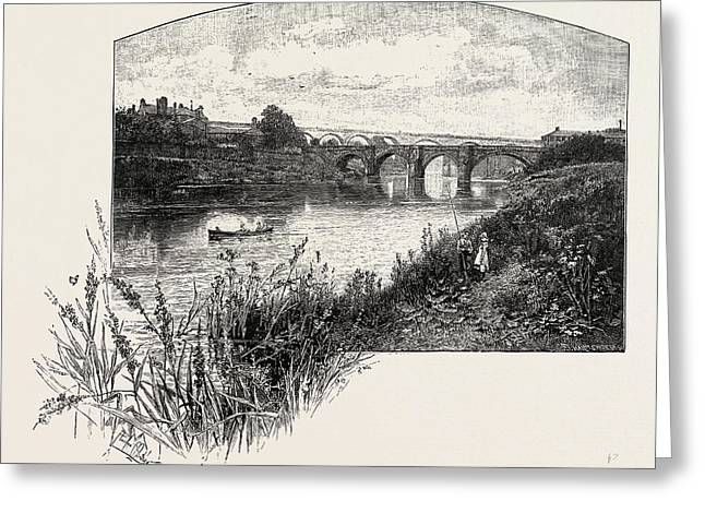Yarm Is A Small Town And Civil Parish In The Unitary Greeting Card by English School