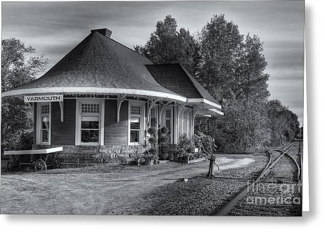 Yarmouth Grand Trunk Railroad Station II Greeting Card