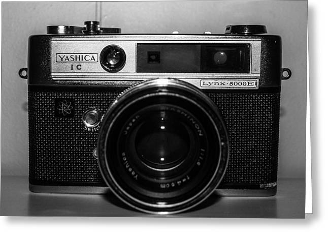 Yashica 1c Greeting Card by Steven  Taylor