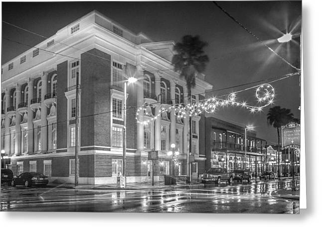 Ybor City Italian Club Greeting Card by Ybor Photography