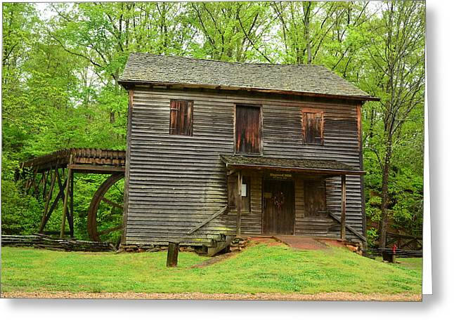 Greeting Card featuring the photograph Ye Olde Grist Mill by Bob Sample