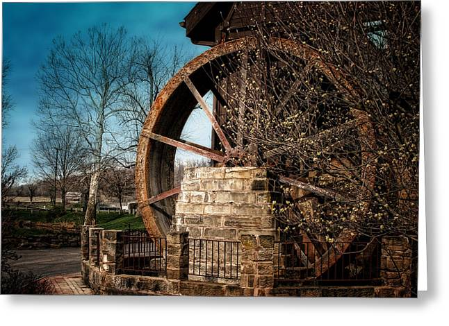 Ye Olde Mill Greeting Card by Tom Mc Nemar
