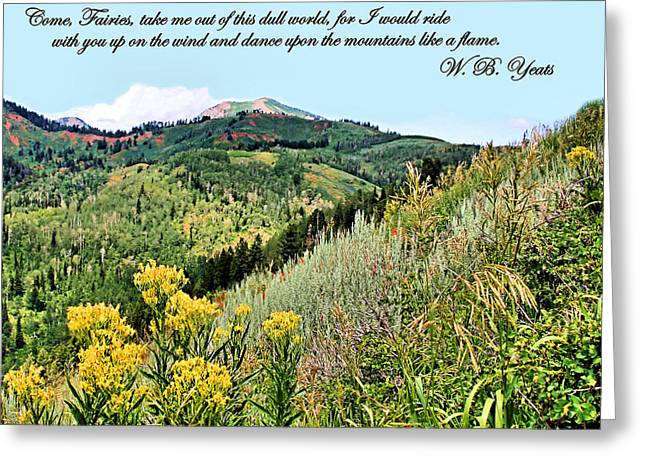 Yeats Greeting Card