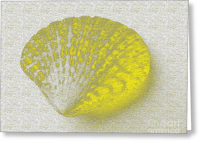 Yellow Greeting Card by Carol Lynch