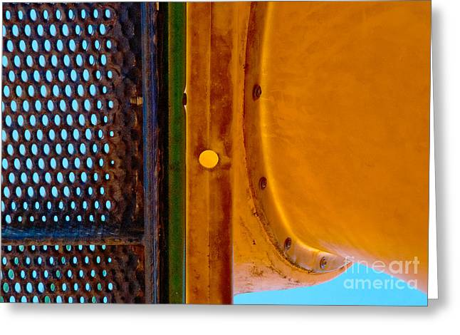 Greeting Card featuring the photograph Yellow Dot by Lena Wilhite