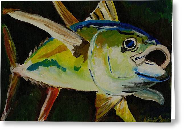 Yellow Fin Tuna Greeting Card