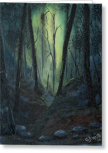 Yellow Forest Greeting Card
