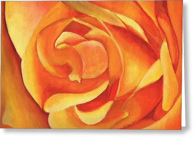 Yellow Rose #3 Greeting Card