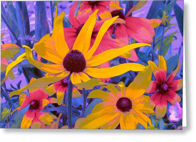 Fantasy Garden - Rudbeckia Greeting Card
