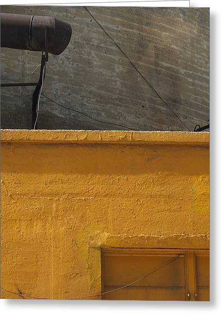 Yellow Storefront Greeting Card
