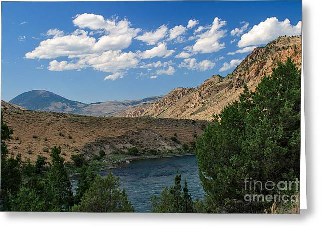 Yellowstone River Overlook Greeting Card by Charles Kozierok