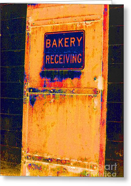 Greeting Card featuring the photograph Yesterday's Bread by Christiane Hellner-OBrien
