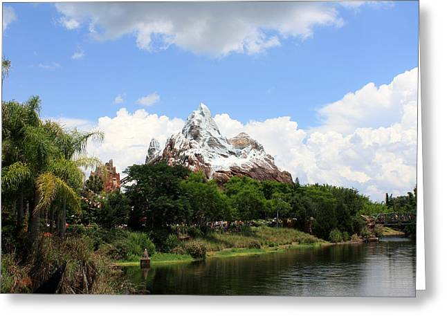 Greeting Card featuring the photograph Yeti Country by David Nicholls