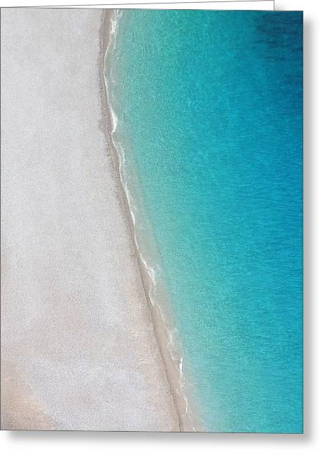 Yin Yang Coast Greeting Card