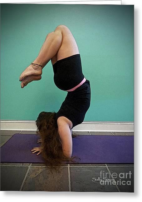 Yoga Study 10 Greeting Card