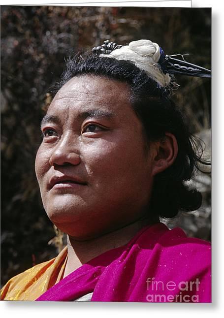 Yogi Lundup Dorje - Tibet Greeting Card