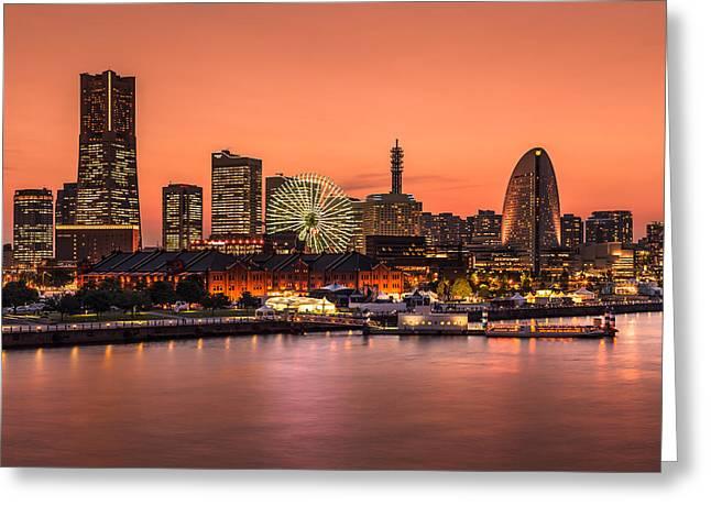 Yokohama 02 Greeting Card by Tom Uhlenberg