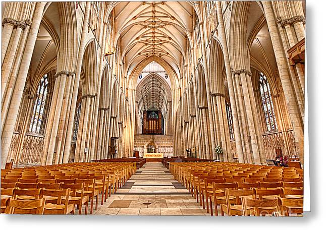 York Minster I Greeting Card by Jack Torcello