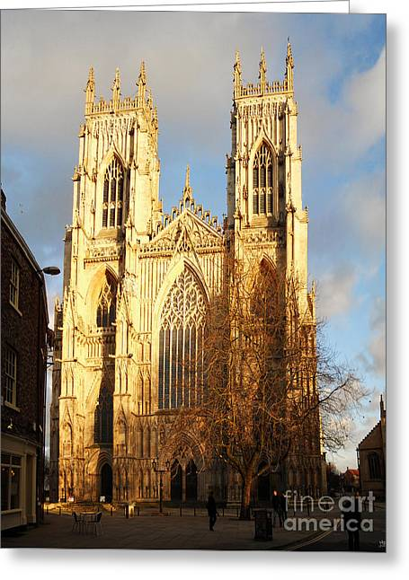 York Minster Greeting Card by Neil Finnemore