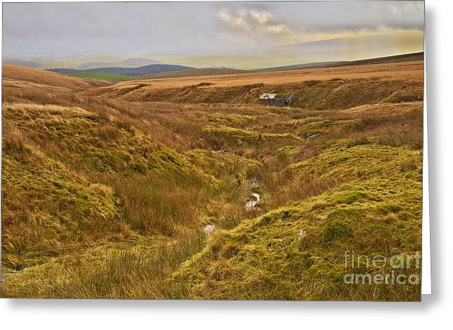 Yorkshire Dales Moorland Greeting Card