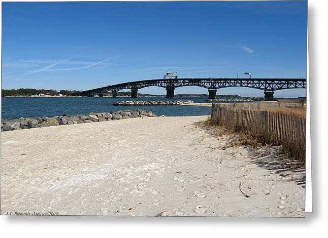 Yorktown Beach Greeting Card