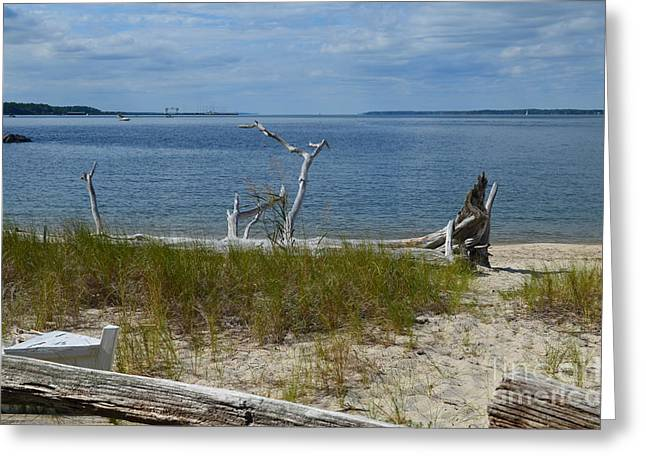 Yorktown Va Beach Greeting Card