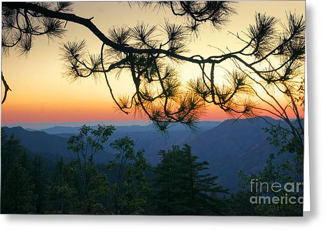 Yosemite Dusk Greeting Card