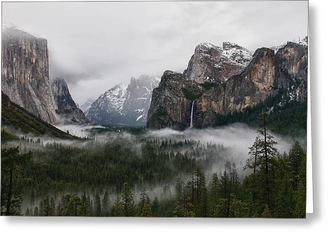 Yosemite Greeting Card by Jay Seeley