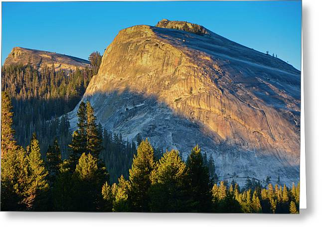 Yosemite National Park, Ca, Lembert Greeting Card