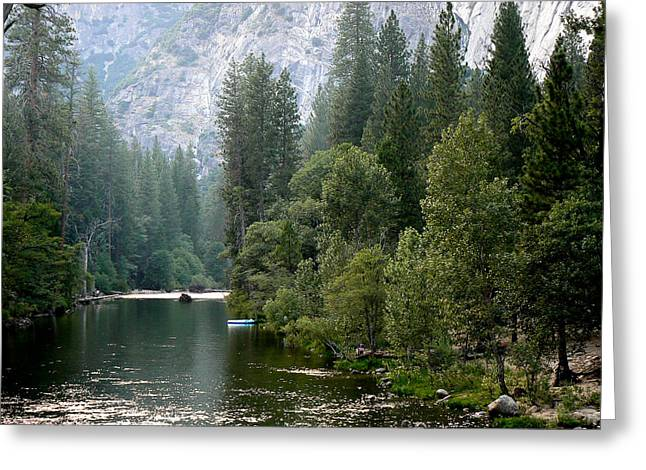 Greeting Card featuring the photograph Yosemite National Park by Laurel Powell
