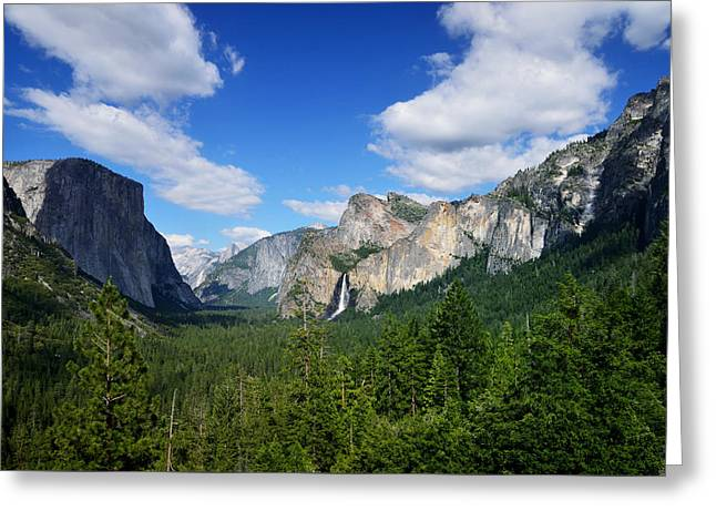 Yosemite National Park Greeting Card by RicardMN Photography