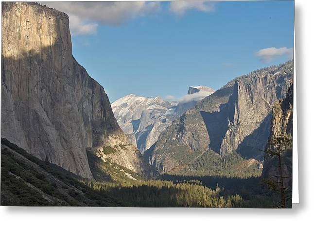 Yosemite National Park Greeting Card by Steven Lapkin